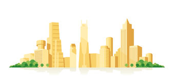 Cityscape stock illustration