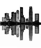 Cityscape royalty-vrije stock afbeelding