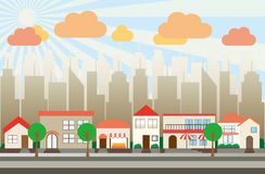 cityscape Lizenzfreies Stockbild
