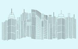 cityscape Zdjęcie Stock