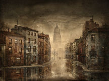 cityscape ilustração royalty free
