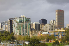 Cityscape in Adelaide, Australia Royalty Free Stock Images