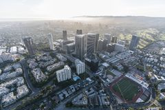Century City and West Los Angeles Aerial Stock Photos