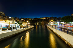 Cityscape of Agios Nikolaos, Greece Royalty Free Stock Photography
