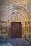 Cityscape at Aguero, Aragon, Spain Royalty Free Stock Photos