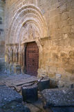 Cityscape at Aguero, Aragon, Spain Royalty Free Stock Photography
