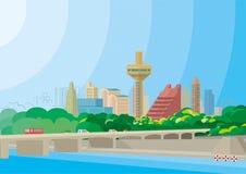 Cityscape - Ahmedabad Arkivbilder