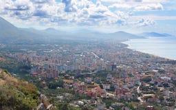 CITYSCAPE ALANYA. Turkije Royalty-vrije Stock Foto