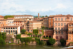 Cityscape of Albi, France Royalty Free Stock Photography