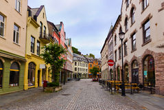 Cityscape of Alesund Norway Royalty Free Stock Photo