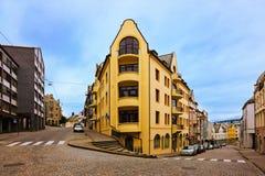 Cityscape of Alesund - Norway Stock Photos