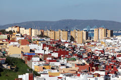 Cityscape of Algeciras, Spain Stock Photos