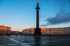 Cityscape all known city on the Neva St. Petersburg Royalty Free Stock Images