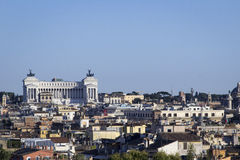 Cityscape Altare della Patria. Panoramic terrace Stock Photography