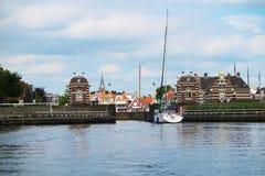 Cityscape in Amsterdam Stock Photos