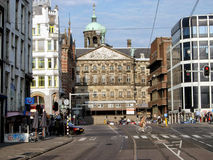 Cityscape in amsterdam Stock Images