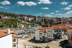 Cityscape of Ankara city in summer Royalty Free Stock Images
