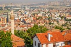 Cityscape of Ankara Stock Images