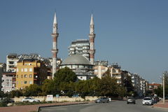 Cityscape of Antalya, Turkey Stock Photo