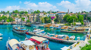 The cityscape of Antalya Stock Photo