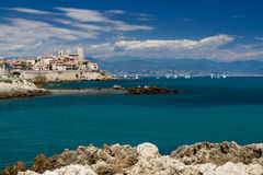 Cityscape of Antibes Royalty Free Stock Images