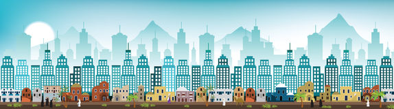 Cityscape Arabia Royalty Free Stock Photos