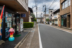 Cityscape of Arashiyama, Kyoto Stock Photos