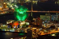 Cityscape Around Osaka Bay Royalty Free Stock Photography
