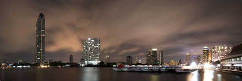 Cityscape at Asiatique. Stock Photo