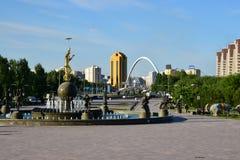 A cityscape of Astana / Kazakhstan Royalty Free Stock Image