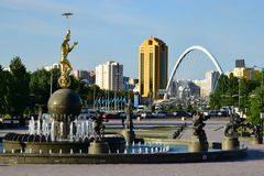 A cityscape of Astana / Kazakhstan Royalty Free Stock Photography