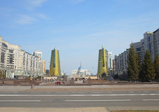 Cityscape of Astana Stock Photo