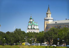 Cityscape. Astrakhan. Russia. Stock Photography