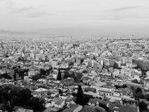 Cityscape of athens. Metropolis of Athens in greece Royalty Free Stock Image
