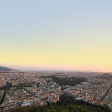 Cityscape Athens Greece Royalty Free Stock Photo