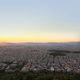 Cityscape Athens Greece Royalty Free Stock Photos