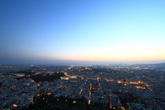 Cityscape Athens Greece Stock Photo