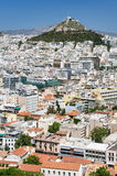 Cityscape of Athens, Greece Royalty Free Stock Image