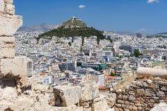 Cityscape of Athens, Greece Stock Photo