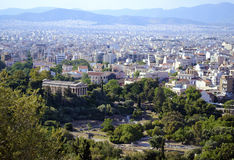 Cityscape of Athens Greece Royalty Free Stock Image
