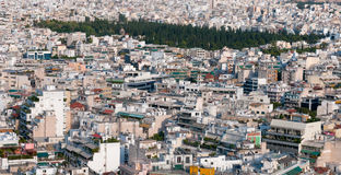 Cityscape of Athens, Greece Royalty Free Stock Images