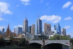 Cityscape Australië van Melbourne Stock Afbeelding