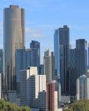 Cityscape Australië van Melbourne Stock Afbeeldingen
