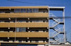 Cityscape av Akita, Japan Royaltyfri Bild