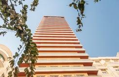 Cityscape av Alicante Arkivfoto