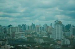 Cityscape av Bangkok Thailand Arkivbild