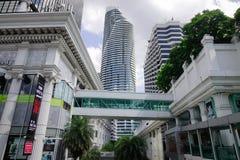 Cityscape av Bangkok, Thailand Royaltyfria Foton