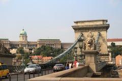 Cityscape av Budapest, Ungern Royaltyfri Foto