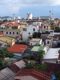 Cityscape av Da Nangstaden i Vietnam arkivbilder