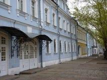 Cityscape av den gamla Moskva Arkivbild